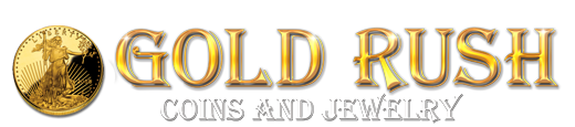 Gold Rush Coins and Jewelry Logo