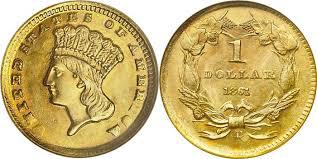 $1 indian princess coin