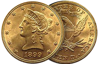 $10 liberty coin