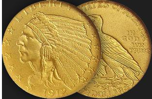 $2 & 1/2 dollar indian coin