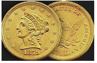 $2 & 1/2 dollar liberty coin