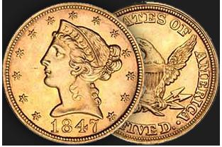 $5 liberty coin